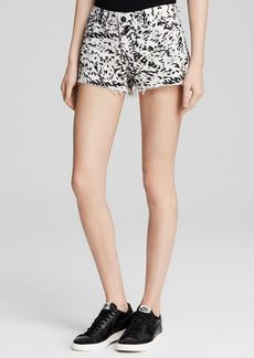 J Brand Shorts - Cutoff in Labyrinth Print