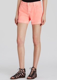 J Brand Shorts - Joanie Relaxed Flamingo