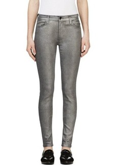 J Brand Silver Super Skinny Jeans