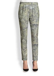 J Brand Starkey Camouflage-Print Slouchy Pants