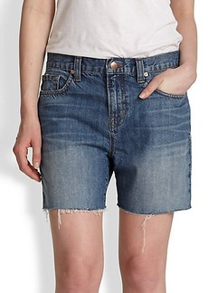 J Brand Stellar Denim Cut-Off Shorts