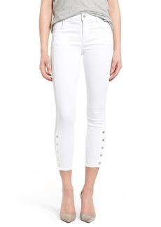 J Brand 'Suvi' Crop Utility Skinny Jeans (White)