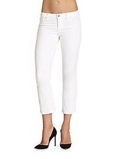 J Brand Sylvie Cropped Skinny Jeans