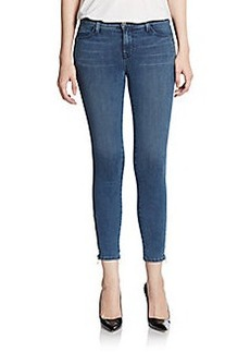 J Brand Tali Cropped Skinny Ankle-Zip Jeans