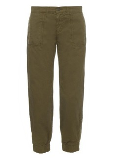 J Brand Tavi utility relaxed-fit cotton trousers