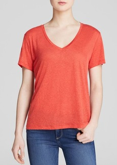 J Brand Tee - Bloomingdale's Exclusive Janis V Neck