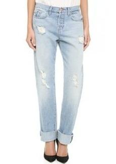 J Brand The Johnny Boyfriend Jeans