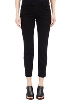 J Brand Twill Cropped Trousers