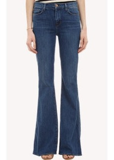 "J Brand ""Valentina"" Flared Jeans"