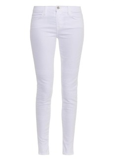 J Brand Willow mid-rise skinny jeans