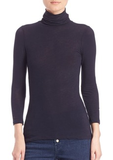 J Brand Winston Turtleneck Top