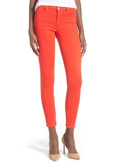 J Brand Zip Hem Crop Jeans