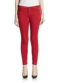 J Brand Zipper Ankle Skinny Jeans