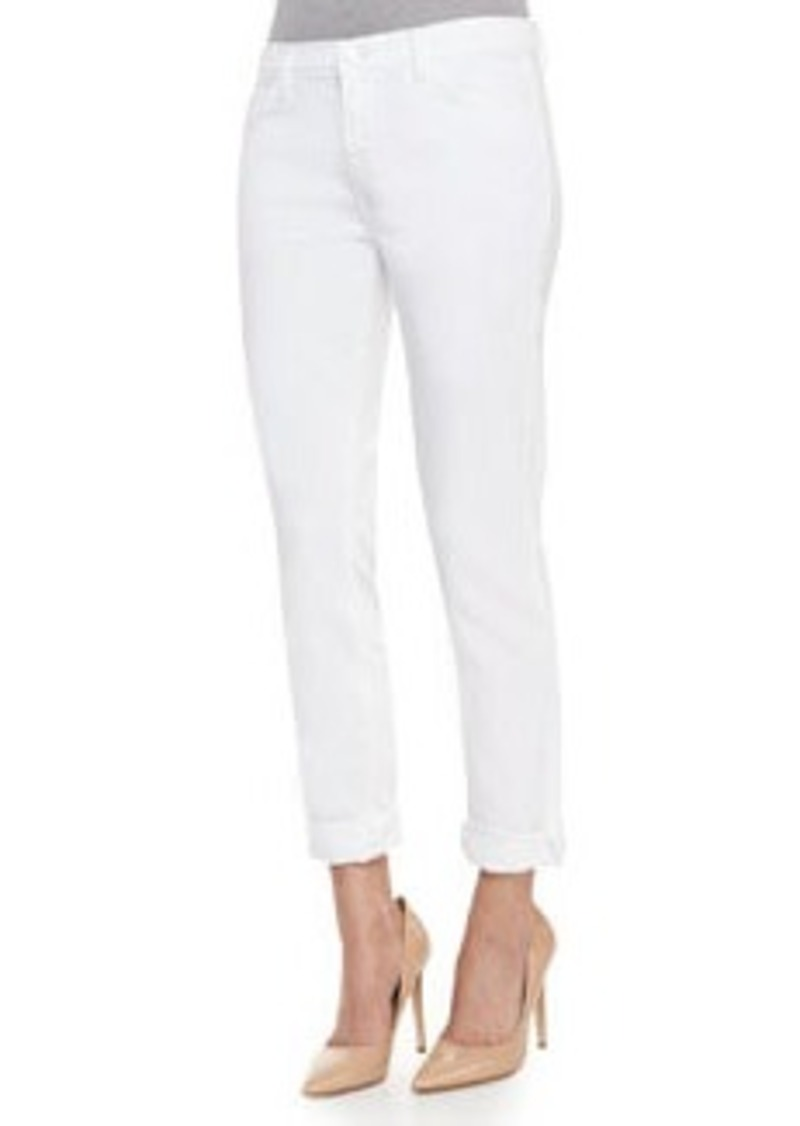 Jake Slim Boy Fit in Pure White   Jake Slim Boy Fit in Pure White
