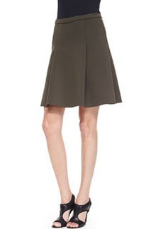 Kimberly Pleated Scuba Skirt   Kimberly Pleated Scuba Skirt
