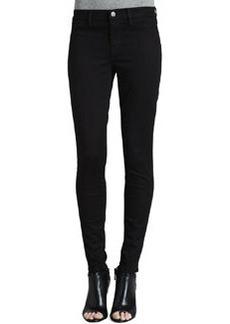 Luxe Sateen Skinny Jeans, Black   Luxe Sateen Skinny Jeans, Black