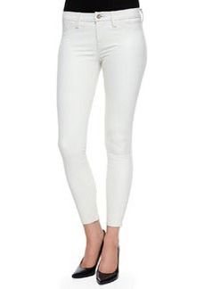 Marie Cropped Leather Skinny Pants   Marie Cropped Leather Skinny Pants