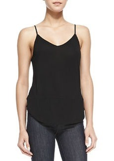 Nadja V-Neck Shirttail Cami Tank   Nadja V-Neck Shirttail Cami Tank