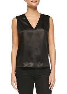 Riley Sleeveless Snake Print-Front Top   Riley Sleeveless Snake Print-Front Top
