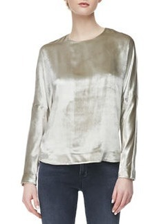 Romy Long-Sleeve Velvet Top   Romy Long-Sleeve Velvet Top