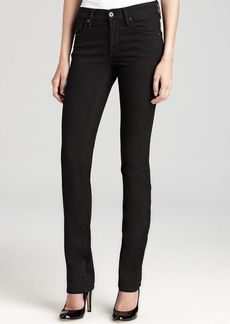 James Jeans - High Rise Straight Leg in Clean Black