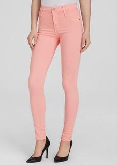 James Jeans - Twiggy High Class Ultra Flex Skinny in Pink Lemonade