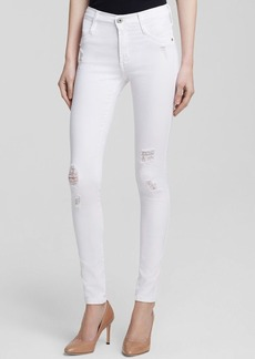James Jeans - Twiggy Ultra Flex Legging in White Clean Distressed