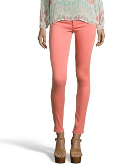 James Jeans apricot stretch denim 'James Twiggy' skinny jeans