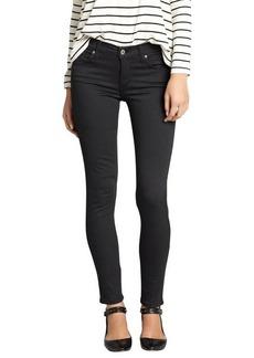James Jeans ascot grey stretch denim 'Twiggy' skinny jeans