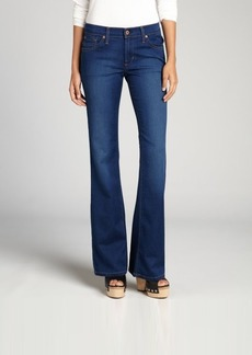 James Jeans azure super-soft stretch cotton blended denim 'Reboot' bootcut jeans