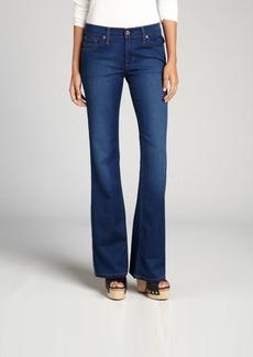 James Jeans azure super-soft stretch cotton blended denim 'Reboot' bootcut jeans