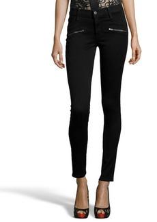 James Jeans B&B denim 'James Twiggy' flip side zip skinny jeans