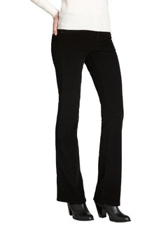James Jeans black stretch cotton corduroy 'Reboot' bootcut jeans