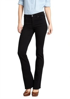 James Jeans black stretch denim 'Reboot' bootcut jeans
