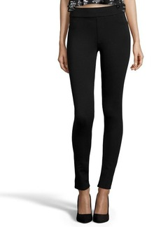 James Jeans black stretch ponte 'James Twiggy' legging jeans