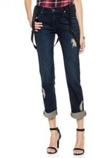 James Jeans Buddy Boyfriend Suspender Jeans