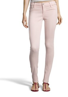 James Jeans cameo pink stretch denim 'James Twiggy' skinny jeans