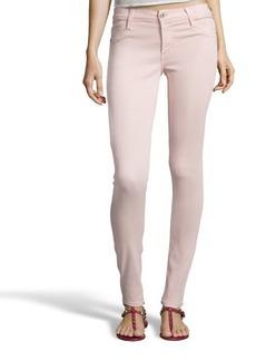 James Jeans cameo pink stretch denim 'James Twiggy' skinny jeans
