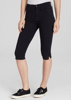 James Jeans Capris - Sophia High Rise Knee Crop in Summer Noir
