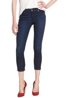 James Jeans carbonite blue 'Twiggy' cropped legging