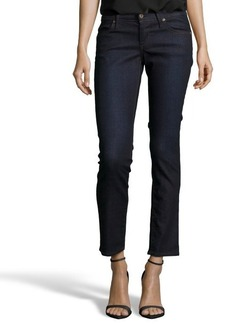 James Jeans carolina deep indigo stretch 'Ritchie' cropped straight leg jeans