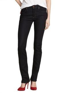 James Jeans chateau blue stretch denim high rise 'Hunter' straight leg jeans