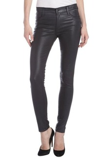 James Jeans chrome coated stretch 'Twiggy' skinny jeans