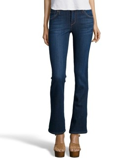 James Jeans coastal blue denim 'Nuboot' classic bootcut jeans