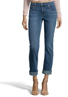 James Jeans crush blue denim 'Buddy' boyfriend jean