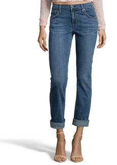 James Jeans crush blue denim 'Buddy' boyfriend jean