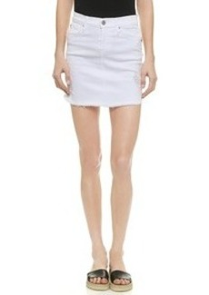 James Jeans Daisy Cut Off Skirt