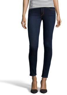 James Jeans dark blue stretch cotton denim 'James Twiggy' skinny jeans