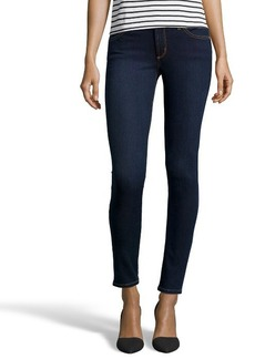 James Jeans dark blue stretch cotton denim 'James Twiggy' skinny jeans