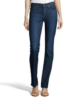 James Jeans dilemma contrast denim 'Hunter' high rise jeans